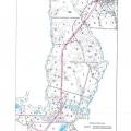 Тематическая лесная карта лесотакционных выделов