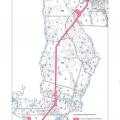 Тематическая лесная карта распределения территорий лесного участка по классам пожарной опасности
